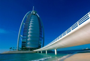Burj Al Arab - Broen til hotellet