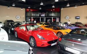 Bilforhandler i Dubai