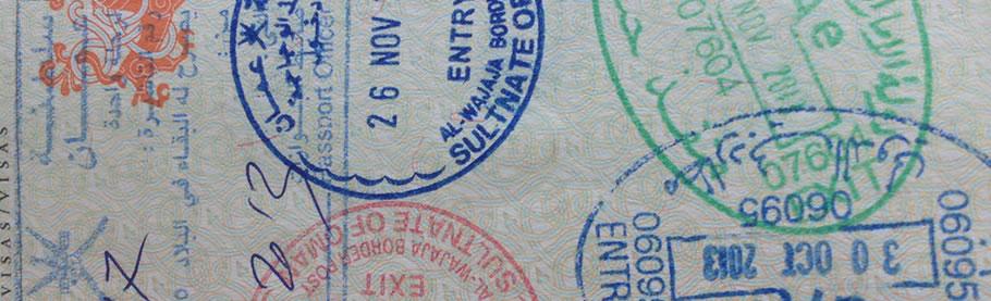 Dit pas efter et visarun