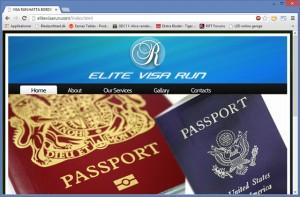 Visa-run kan også køres med bureauer der guider dig igennem hele turen - og lægger bil til!